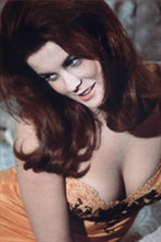 Ann Margret has large and lively chest.