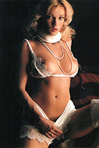 Brigitte Lahaie having sex with a mechanical man.
