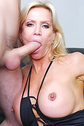 Porn Star Gina Carrera is an alluring blonde vixen.