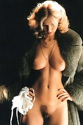 Lois Ayres a platinum blonde with ripe breasts.